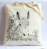 Bird Through The Hedge 'Donkey' Tote Bag