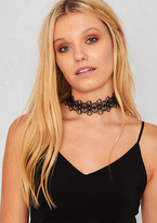 Missy Empire Nairia Black Lace Floral Choker