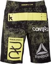 Reebok Mens Combat Training MMA Hero Shorts Canopy Green