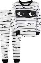 Carter's Girls/Boys 2-Piece Snug Fit Cotton Halloween PJs