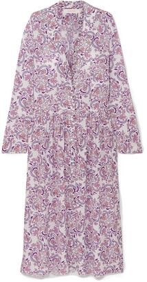 See by Chloe Paisley-print Voile Midi Dress