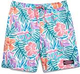 Vineyard Vines Boys' Gulf Tropical Chappy Swim Trunks - Little Kid, Big Kid