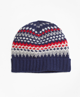 Brooks Brothers Nordic Fair Isle Beanie