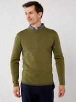 White Stuff Rocard merino crew knit