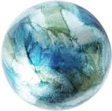 Pier 1 Imports Blue & Green Foil Decorative Sphere