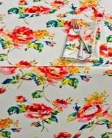 "Fiesta Floral Bouquet 60"" x 84"" Tablecloth"