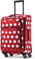 """American Tourister Disney Minnie Mouse Polka Dot 21"""" Spinner Suitcase by"""
