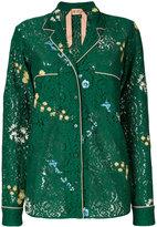 No.21 lace shirt - women - Silk/Cotton/Polyamide/Acetate - 38