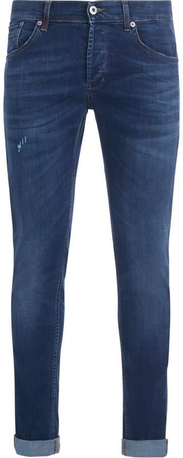 Dondup Ritchie Medium Washed Bue Denim Jeans