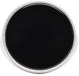 Maison Margiela Silver & Black Circle Ring