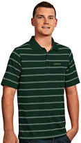 Antigua Men's Oregon Ducks Deluxe Striped Desert Dry Xtra-Lite Performance Polo