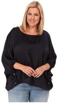 MICHAEL Michael Kors Size Kimono Top w/ Sleeve Ties