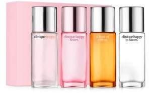 Clinique Hints of Happy 4-Piece Fragrance Set - $58.50