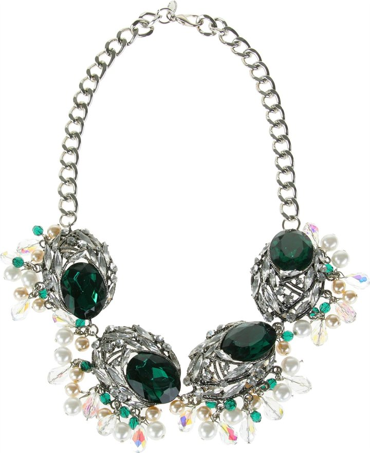 Gabriele Frantzen Jeweled Flower Necklace