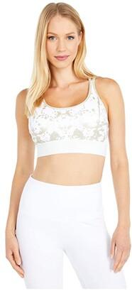 Lysse Juno Cotton Spandex Fashion Bra (Gold Splatter) Women's Bra