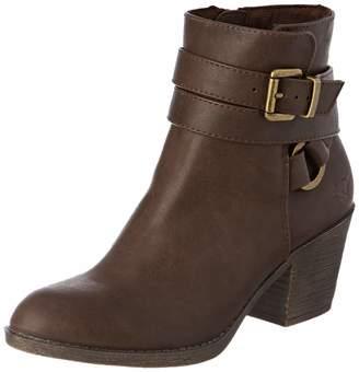 Rocket Dog Women's Salvador Ankle boots (Brown Plateaus) 4 UK 37 EU