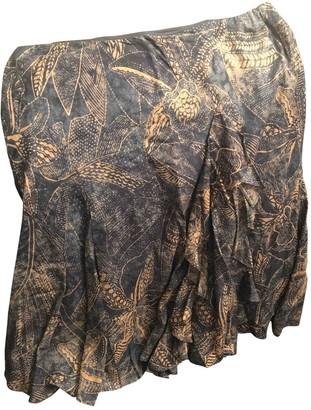 Lauren Ralph Lauren Blue Cotton Skirt for Women