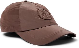 Stone Island Logo-Embroidered Shell Baseball Cap