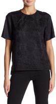 DKNY Short Sleeve Embroidered Front Shirt