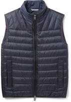 HUGO BOSS Darano Quilted Water-repellent Shell Down Gilet