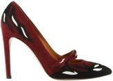 Isabel Marant Burgundy Suede High heel