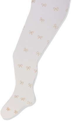 Country Kids Girl's Glitter Bow Tights