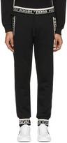 Dolce & Gabbana Black Hashtag Lounge Pants