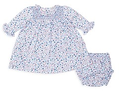 Kissy Kissy Girls' Floral Dress & Bloomer Set - Baby