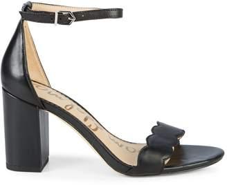 Sam Edelman Odila Leather Heeled Sandals