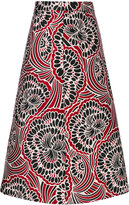 RED Valentino floral print skirt - women - Polyester - 40