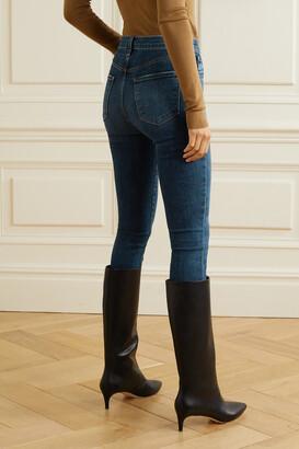 J Brand Leenah High-rise Skinny Jeans - Blue