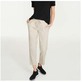 Joe Fresh Women's All-In-One Pant, Light Stone (Size XL)