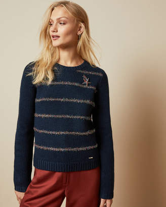 Ted Baker TINTOR Long sleeved knitted top