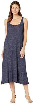 Rachel Pally Metallic Rib Fiona Dress (Azulon/Silver) Women's Dress