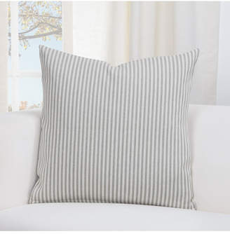 "Everlast Revolution Plus Stripe Greige 26"" Designer Euro Throw Pillow"