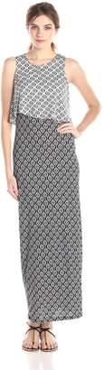 RD Style Women's Printed Sleeveless Maxi Dress