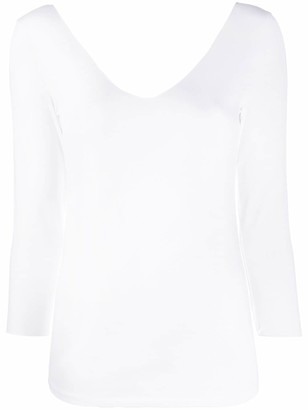 Majestic Filatures v-neck T-shirt