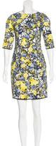 Erdem Floral Bodycon Dress