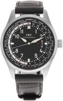 IWC IW326201 45mm Stainless Steel Case Leather Sapphire Crystal Men's Watch