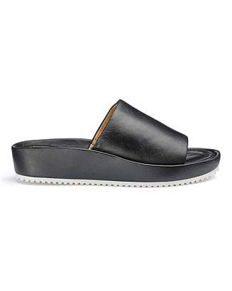Jd Williams Soft Leather Mule Sandals E Fit