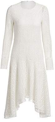 See by Chloe Women's Lacey Jersey Dress