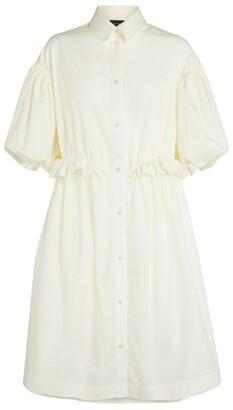 Simone Rocha Ruffle-Detail Shirt Dress