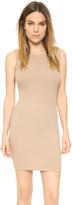 Enza Costa Ribbed Sleeveless Mini Dress