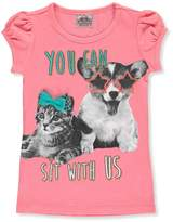 "Beautees Little Girls' ""Sit with Us"" T-Shirt"