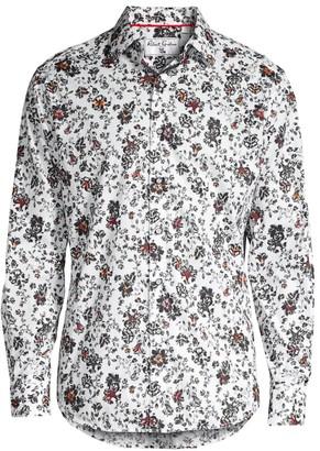Robert Graham Grey Gardens Classic-Fit Floral-Print Shirt