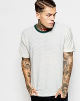 American Apparel Striped T-shirt - Grey