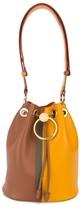 Marni Two-Toned Circle Drawstring Bucket Bag