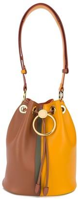 Marni bi-colour circle drawstring bucket bag