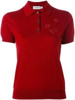 Coach short sleeve polo shirt - women - Wool - M