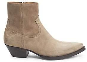 Saint Laurent Men's Lukas Suede Ankle Boots